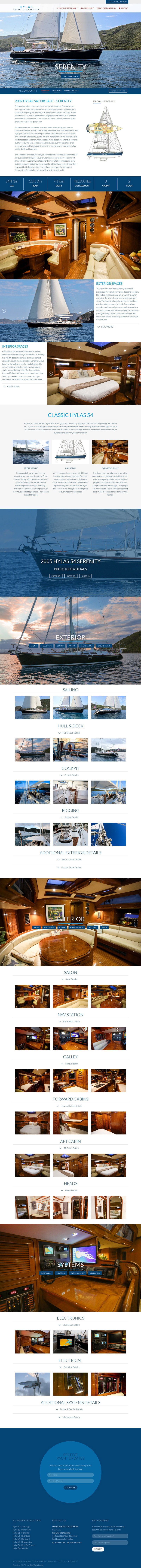 Sample Collection Yachts Listing