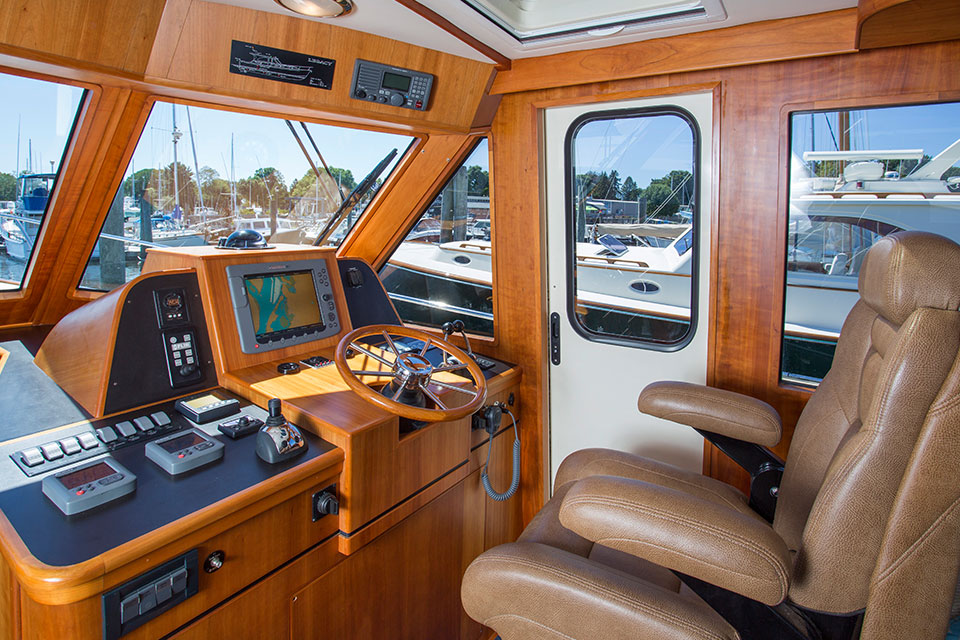 New Legacy 42 Downeast Style Yachts Collection Yachts